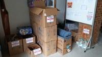 Câmara recebe doações para as vítimas das fortes chuvas no ES