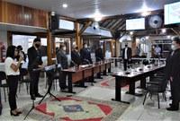 Câmara promove solenidade para inaugurar a Legislatura 2021/2024