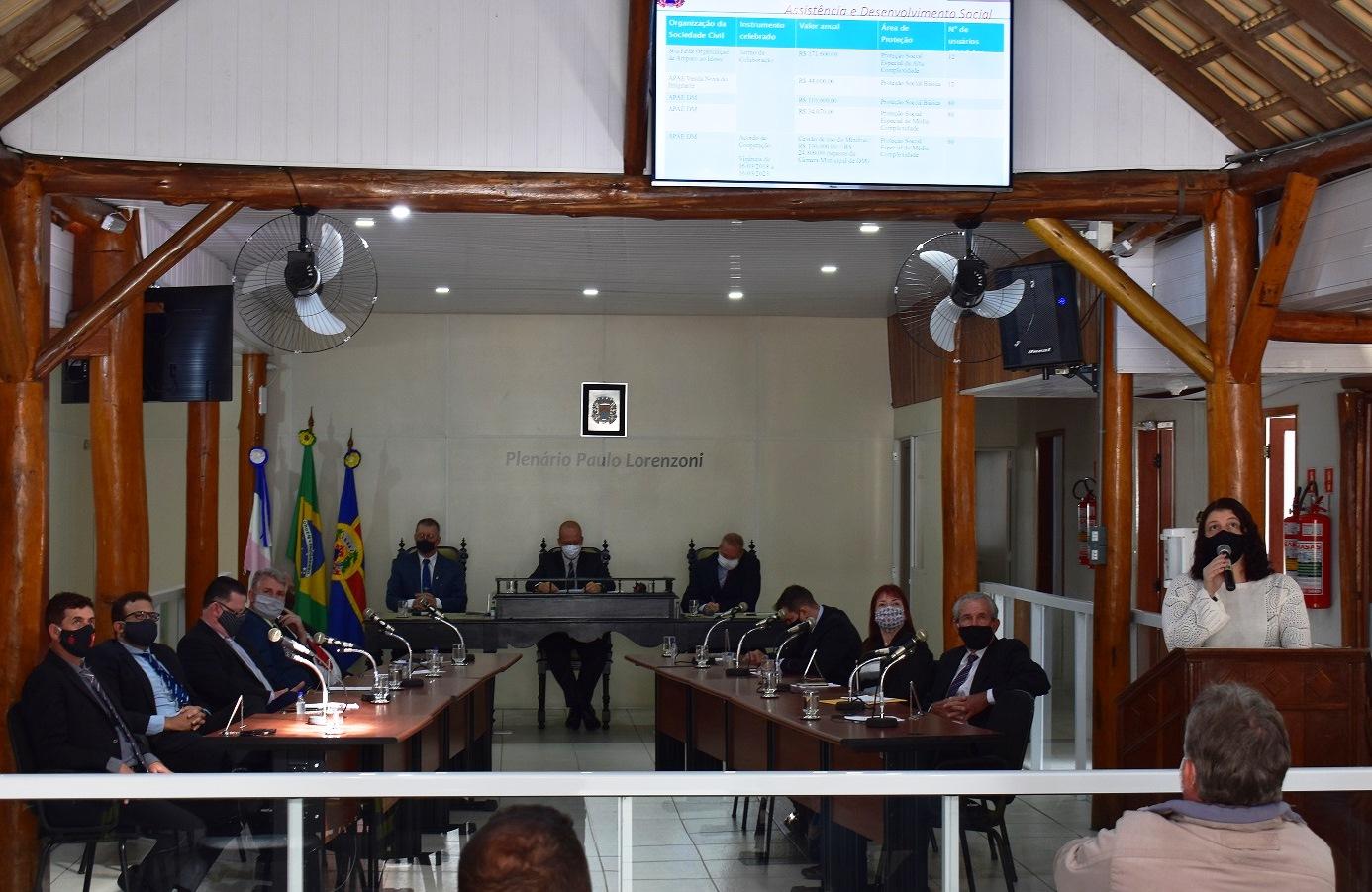 Câmara sedia prestação de contas da Prefeitura