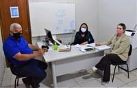 Comissão de Educação, Saúde e Assistência da Câmara se reune com secretária municipal de Educação