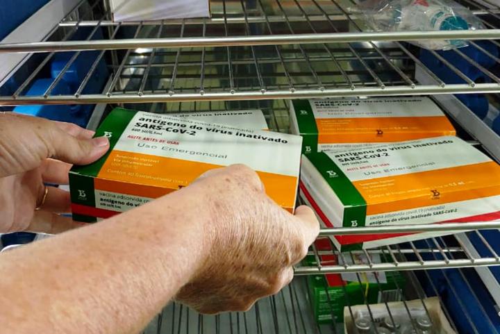 Domingos Martins inicia a vacinação contra a Covid-19