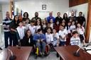 Estudantes da EMEF Mariano Ferreira de Nazareth visitam a Câmara