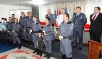 6ª Cia. da Polícia Militar recebe homenagem da Câmara