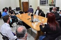 Vereadores participam de reunião com o Interventor Judicial da FHASDOMAR