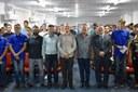 Vereadores prestigiam cerimônia de Juramento à Bandeira