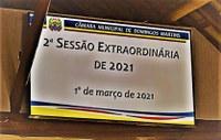 Confira o resumo e os resultados das votações da 2ª sessão extraordinária do ano